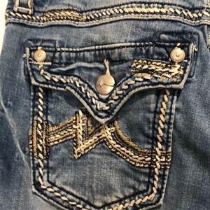 MISS ME Boyfriend Capri Jeans
